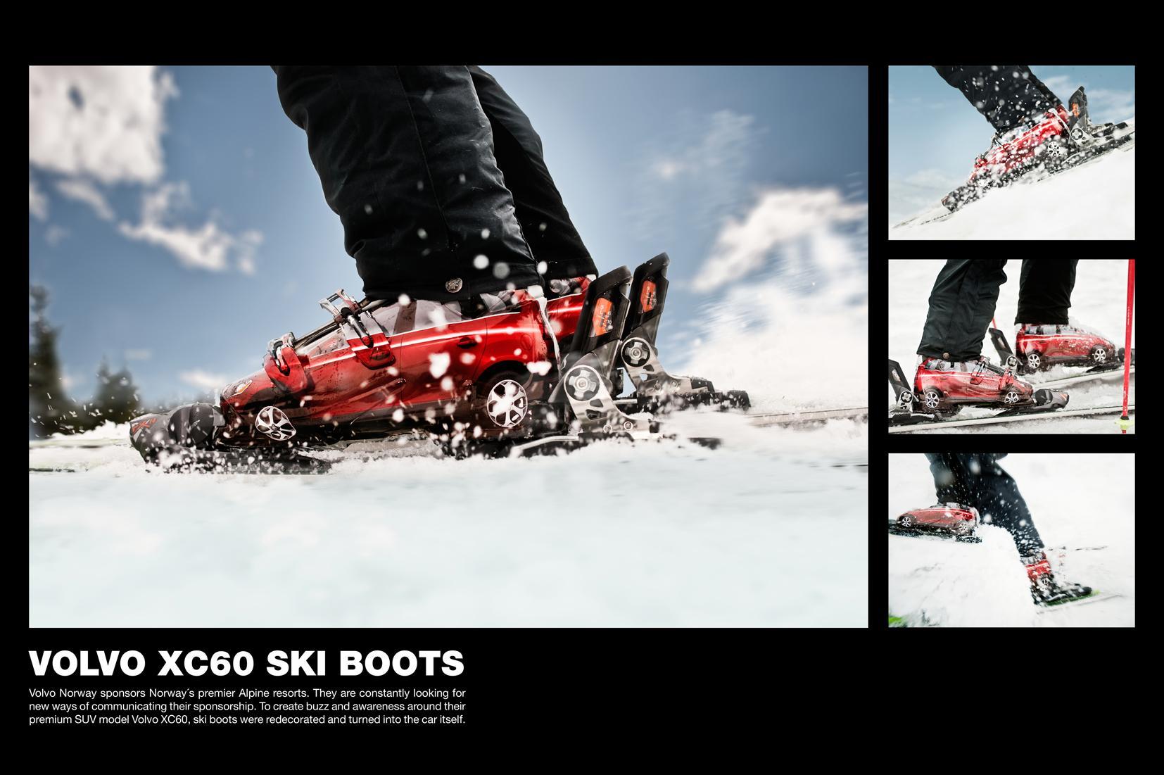 Volvo Ambient Ad -  Ski Boots