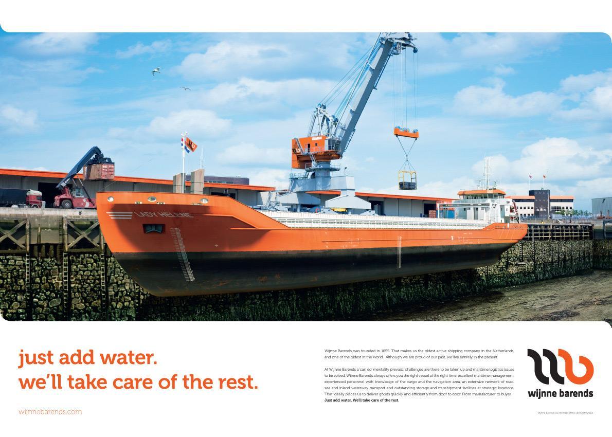 Wijnne Barends Print Ad -  Just add water, 1