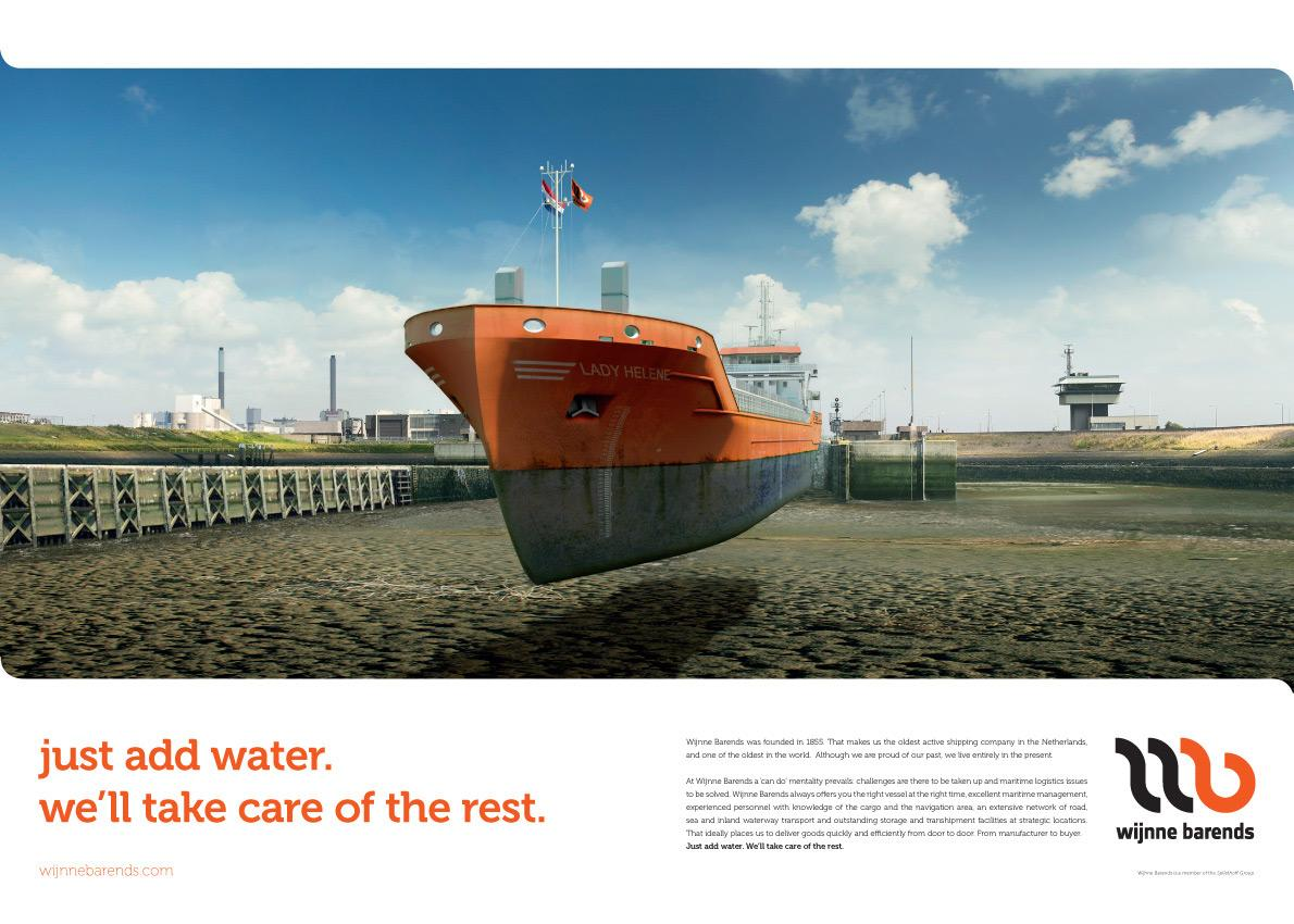 Wijnne Barends Print Ad -  Just add water, 3