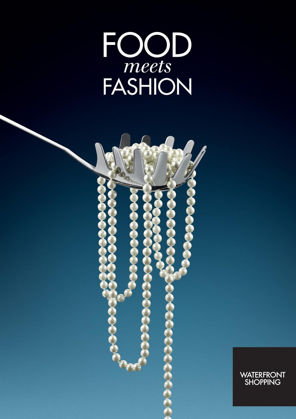 Waterfront Shopping Print Ad -  Necklace