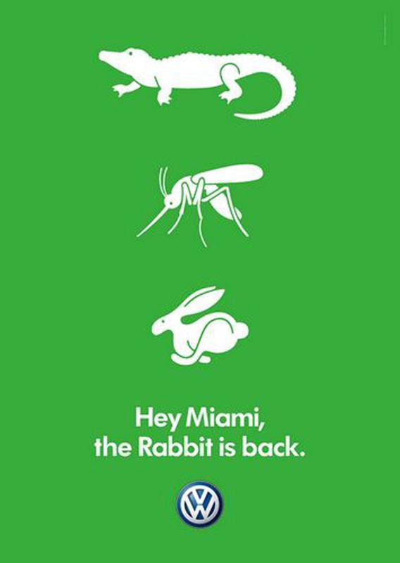 Volkswagen Print Ad -  Miami