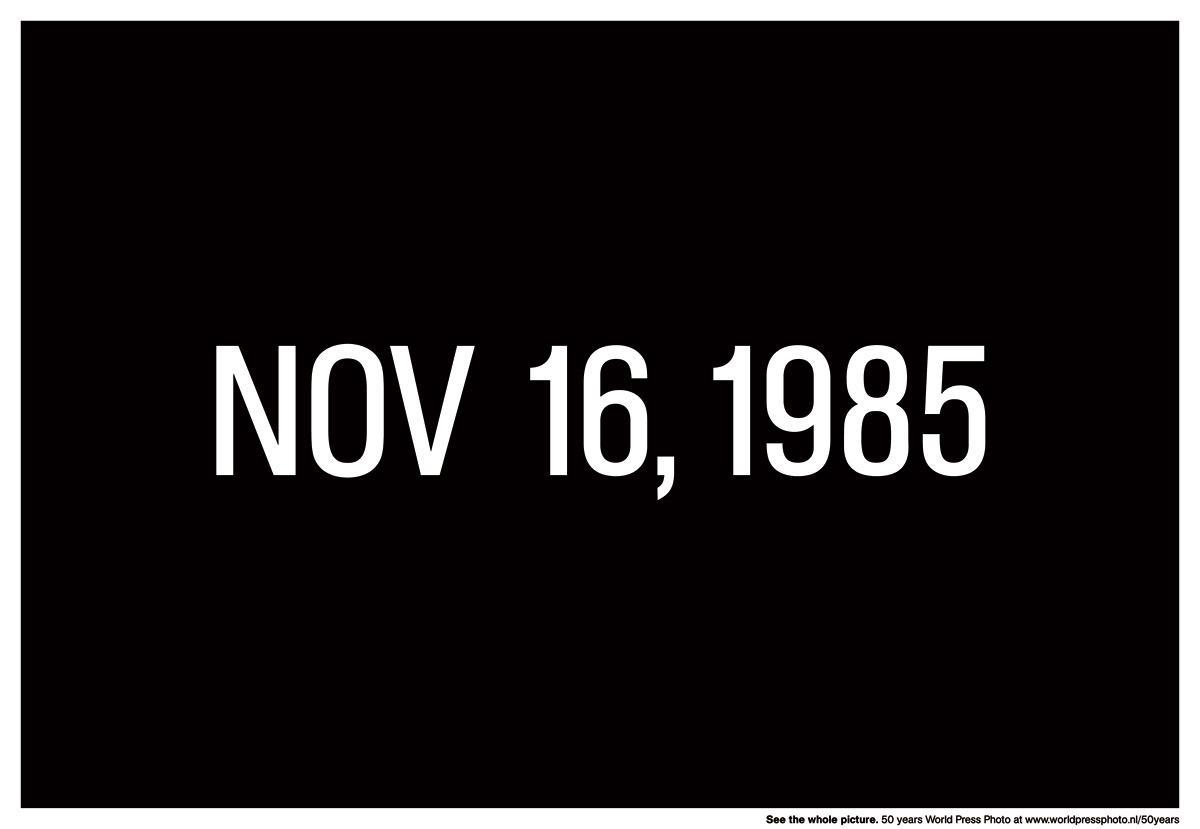 Important Dates - Nov 16, 1985