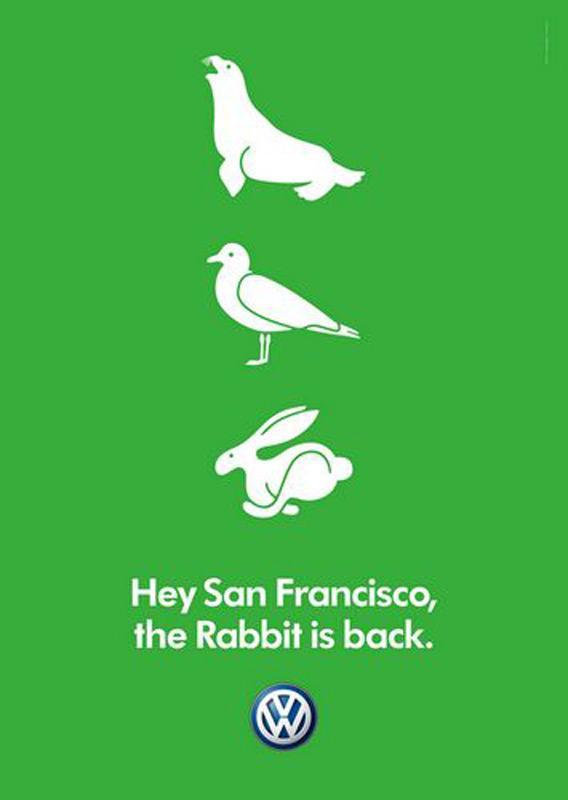 Volkswagen Print Ad -  San Francisco
