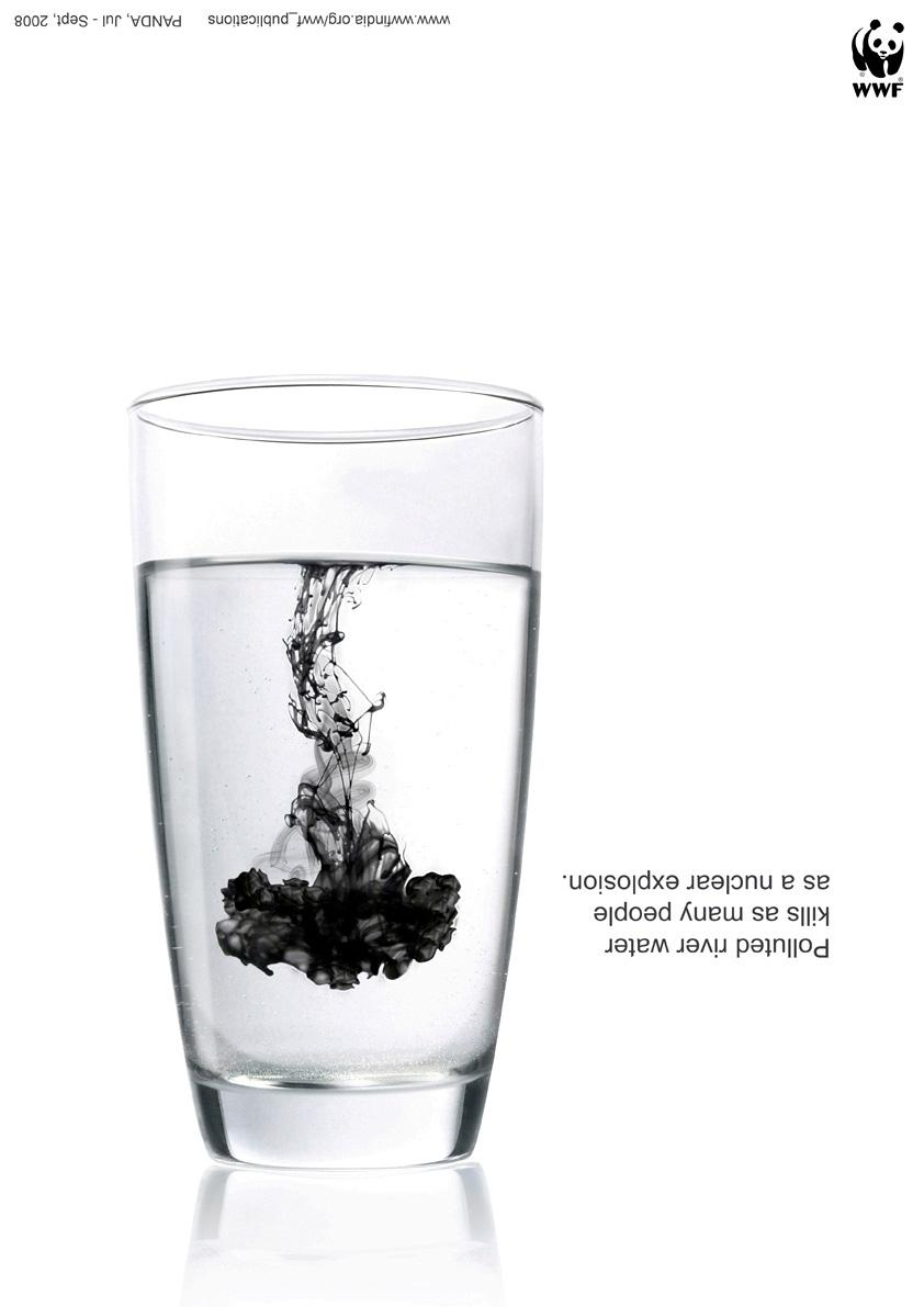 WWF Print Ad -  Water