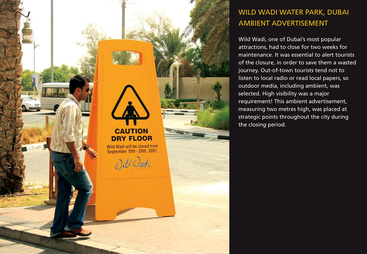 Caution Dry Floor Ambient