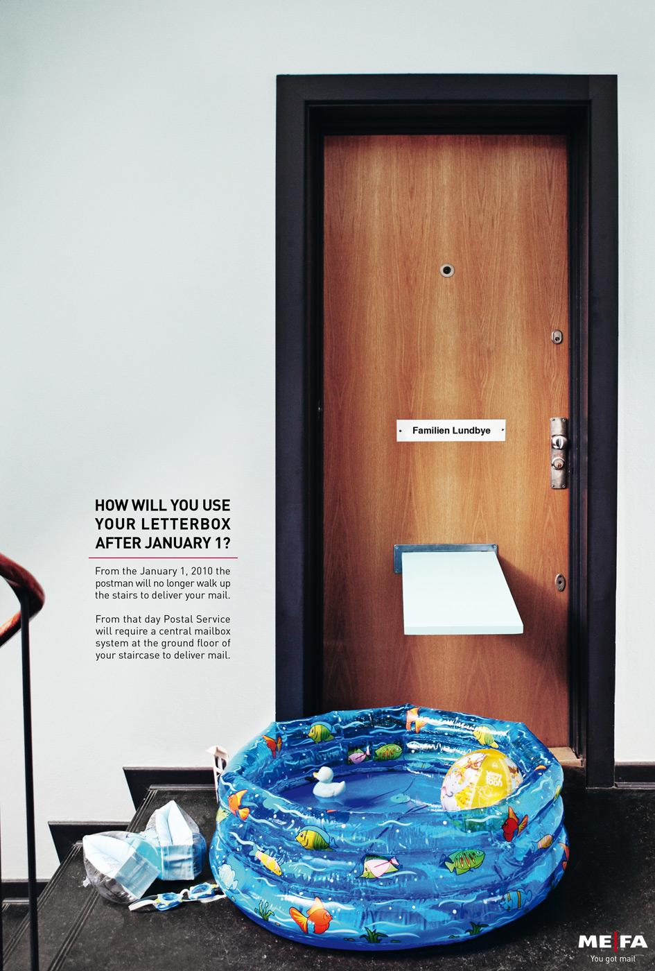 MEFA Print Ad -  Wadding Pool