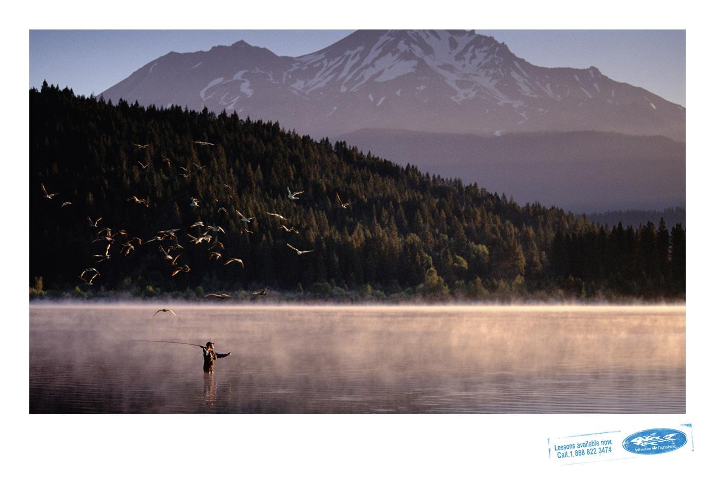Whistler Print Ad -  Lake