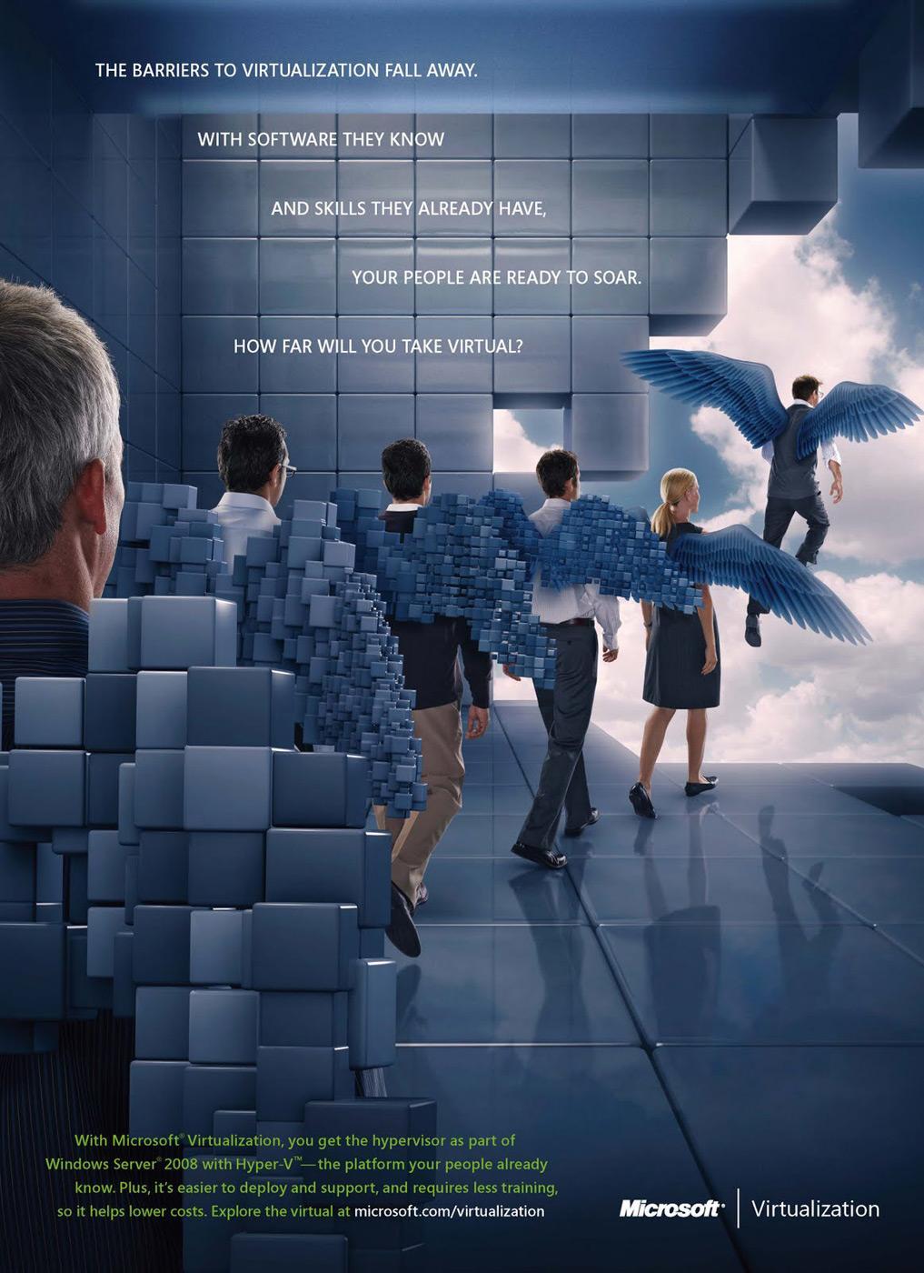 Microsoft Print Ad -  Wings