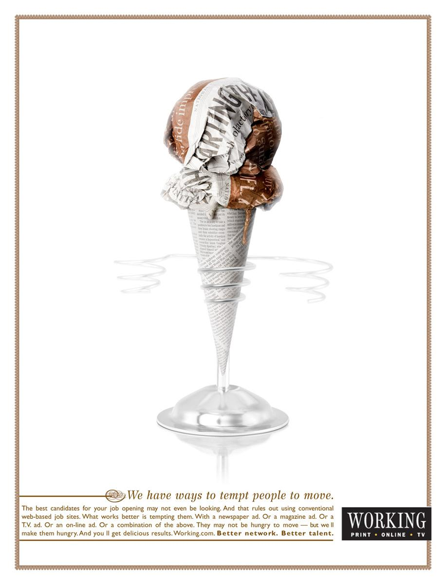 Working Print Ad -  Cone