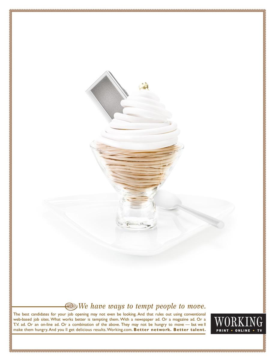 Working Print Ad -  Mousse