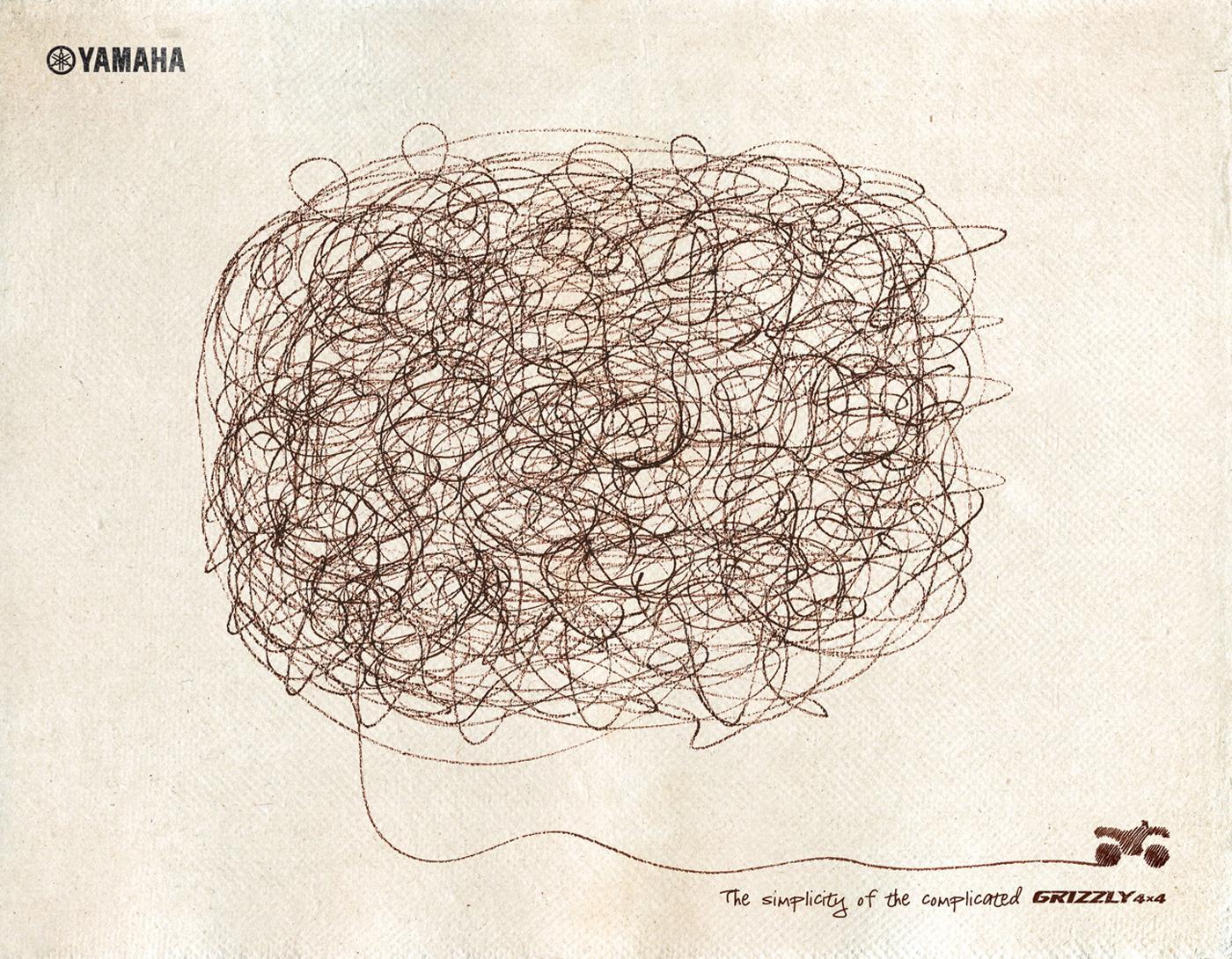 Yamaha Print Ad -  Simplicity, 1