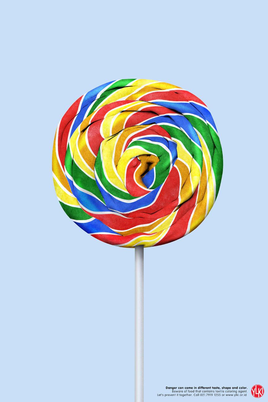 YLKI Print Ad -  Lollipop