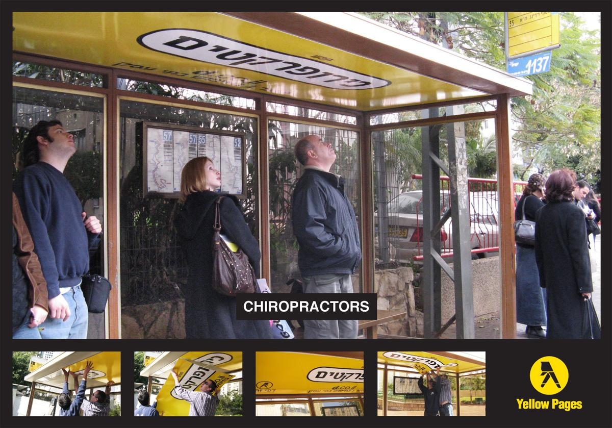 Yellow Pages Ambient Ad -  Chiropractors