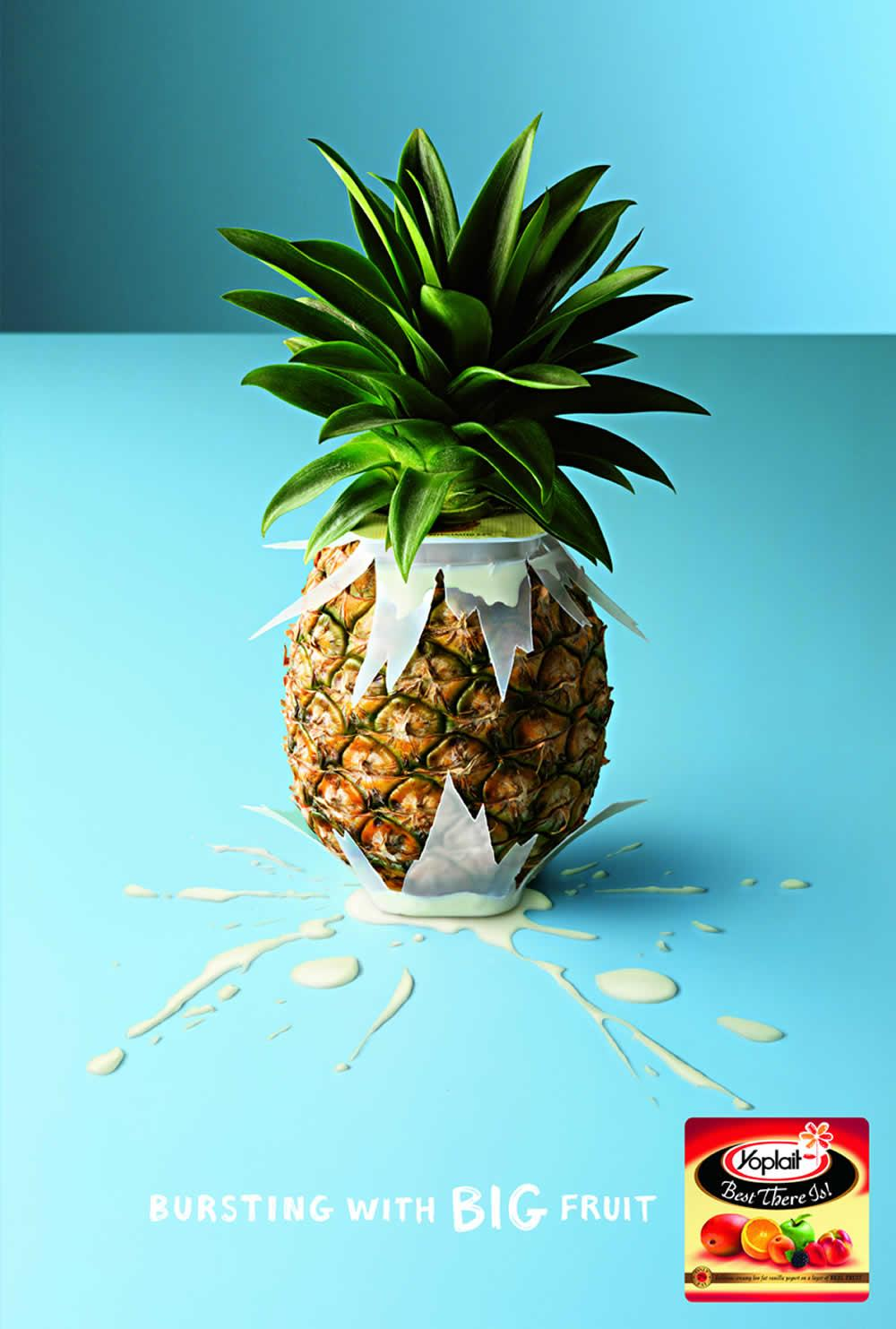 Yoplait pineapple