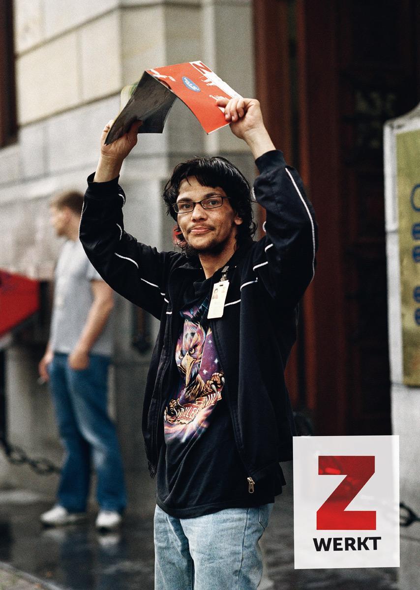 Z Magazine Outdoor Ad -  Metro