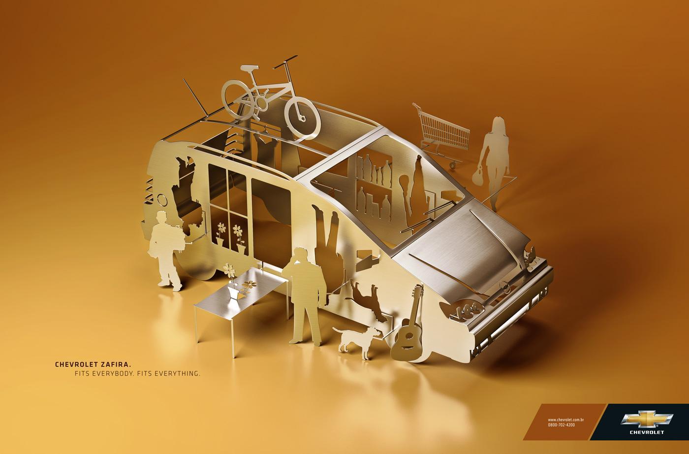 Chevrolet Print Ad -  Fits
