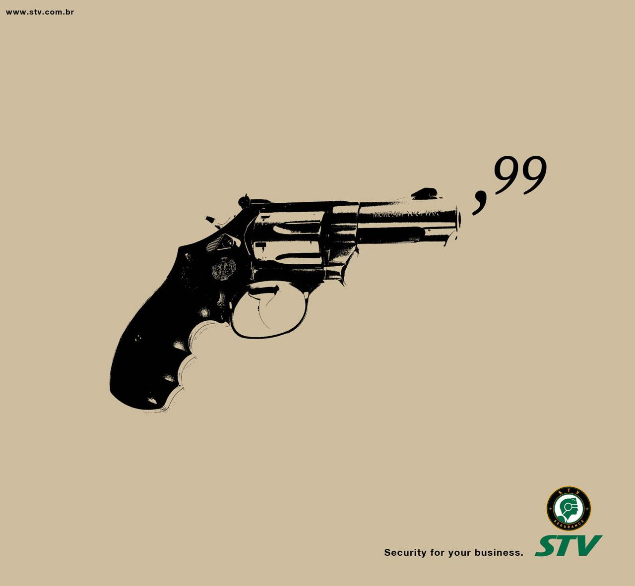 STV Print Ad -  Security for your business, 1