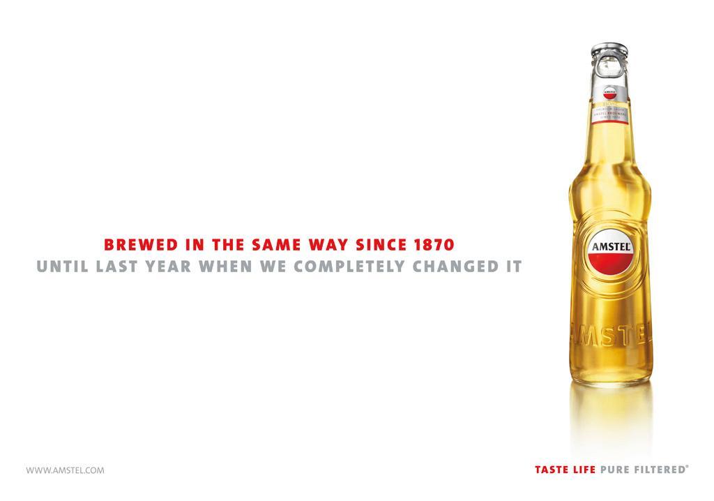 Amstel Print Ad -  Heritage