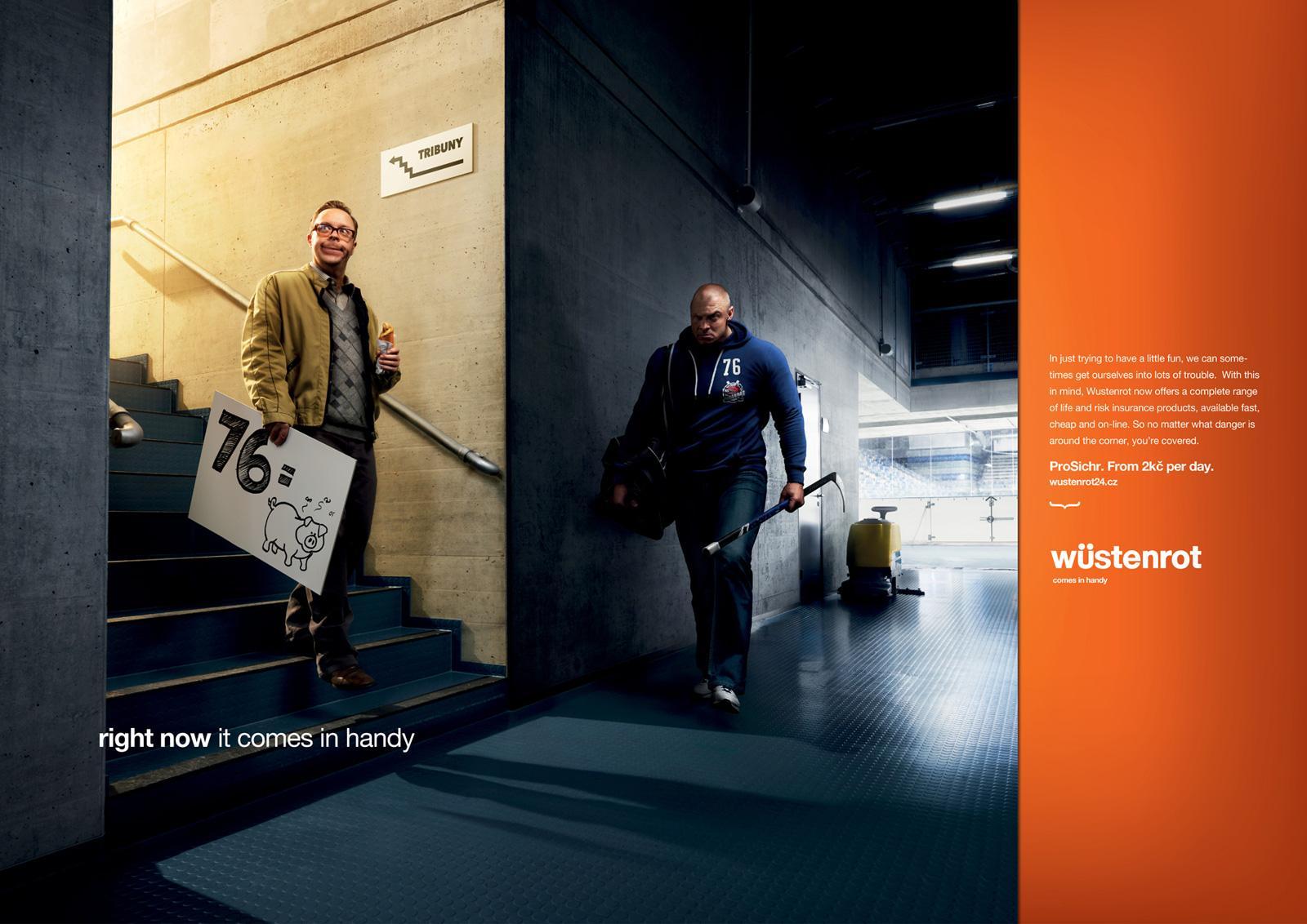 Wustenrot Print Ad -  Hockey