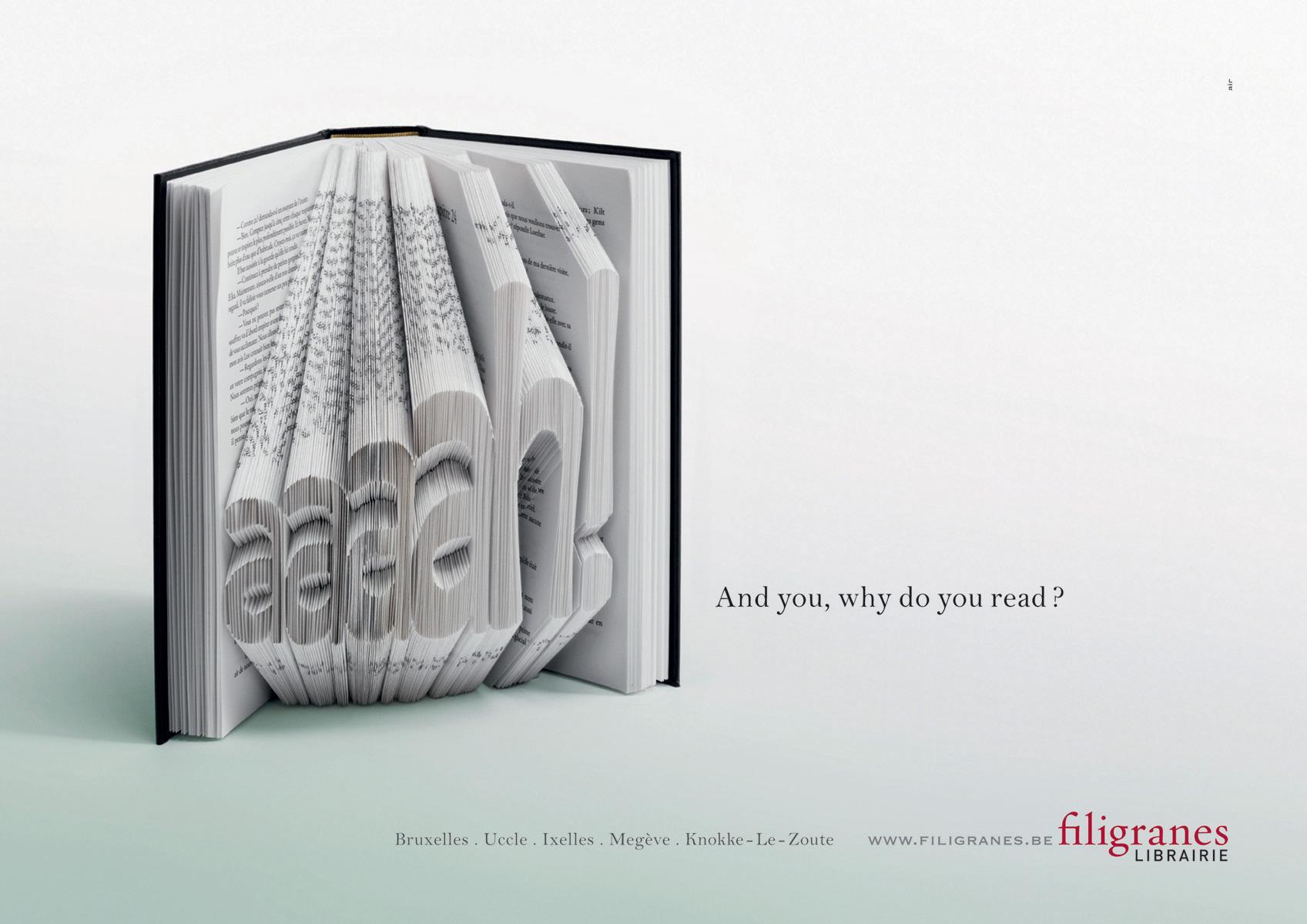 Filigranes Print Ad -  aaaah!