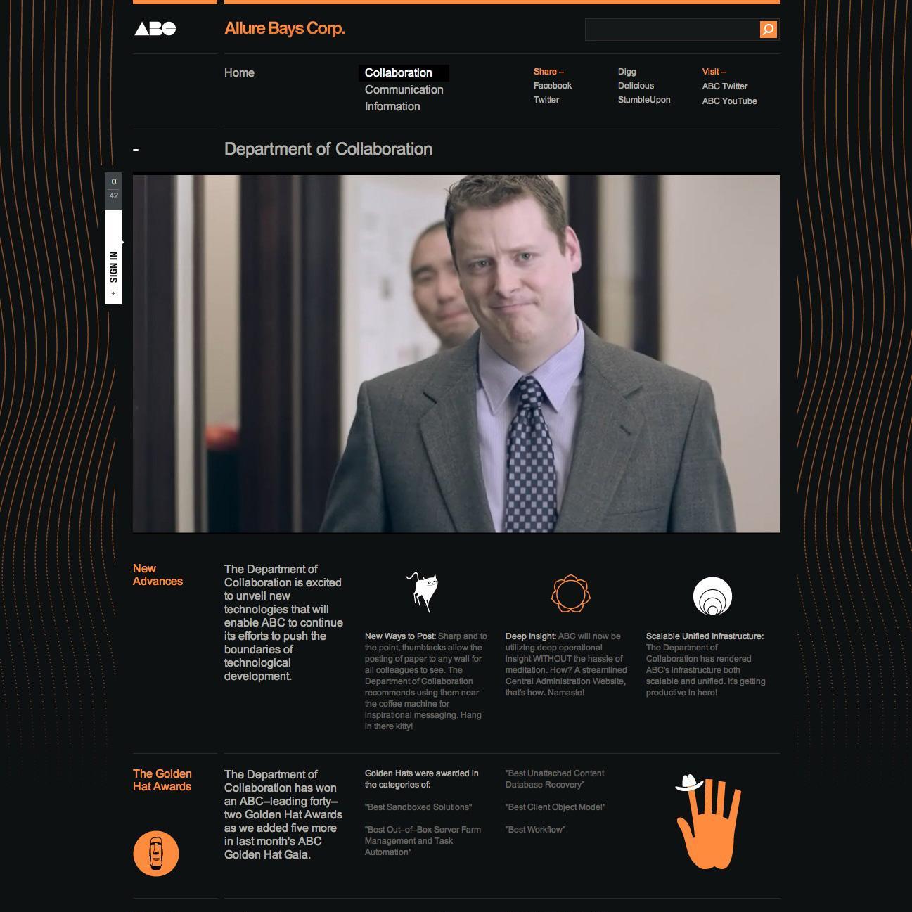 Microsoft Digital Ad -  Allure Bays Corp.