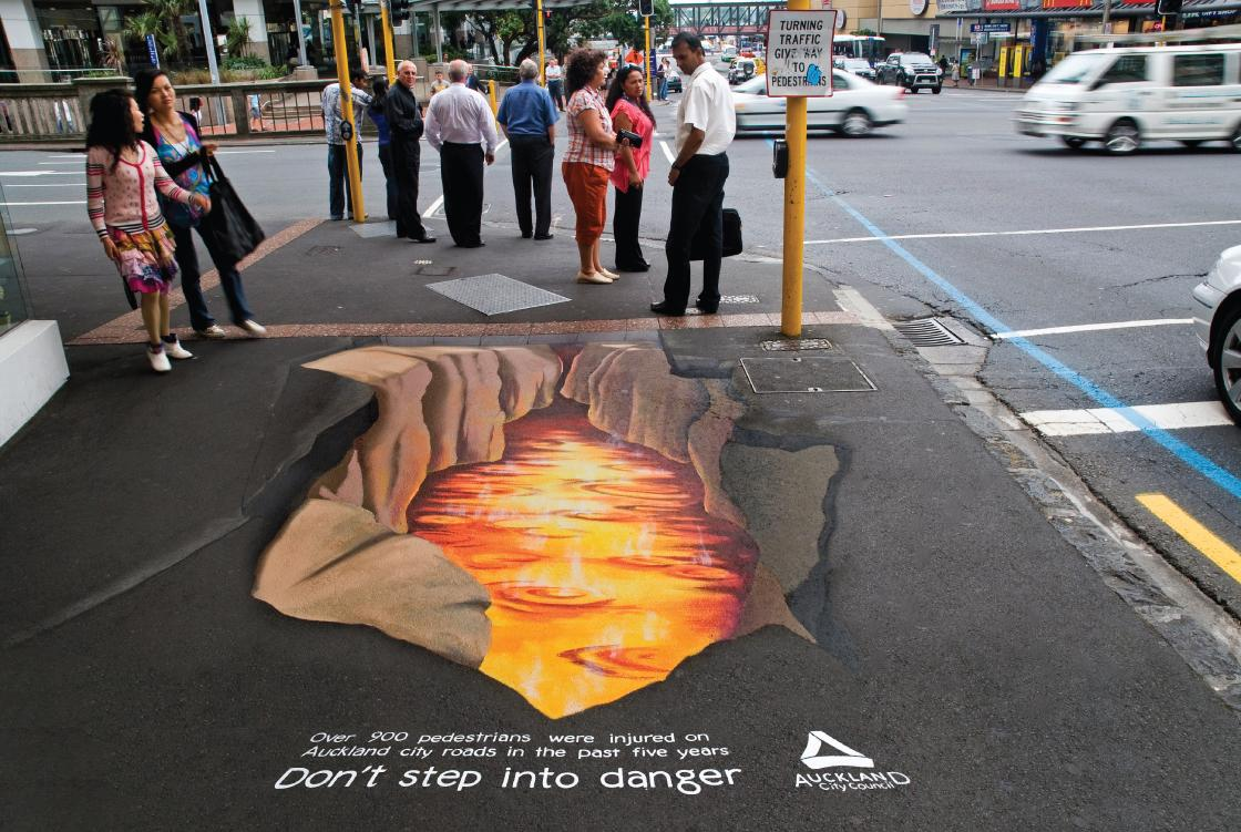 Auckland City Council Ambient Ad -  Lava