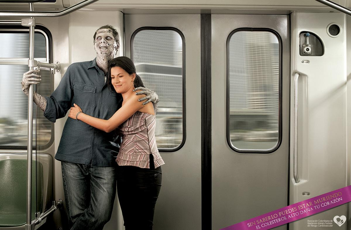 Colombian Association of Arterial Hypertension Print Ad -  Metro