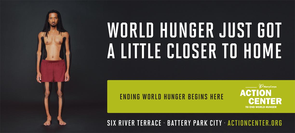 World hunger just got a little closer to home