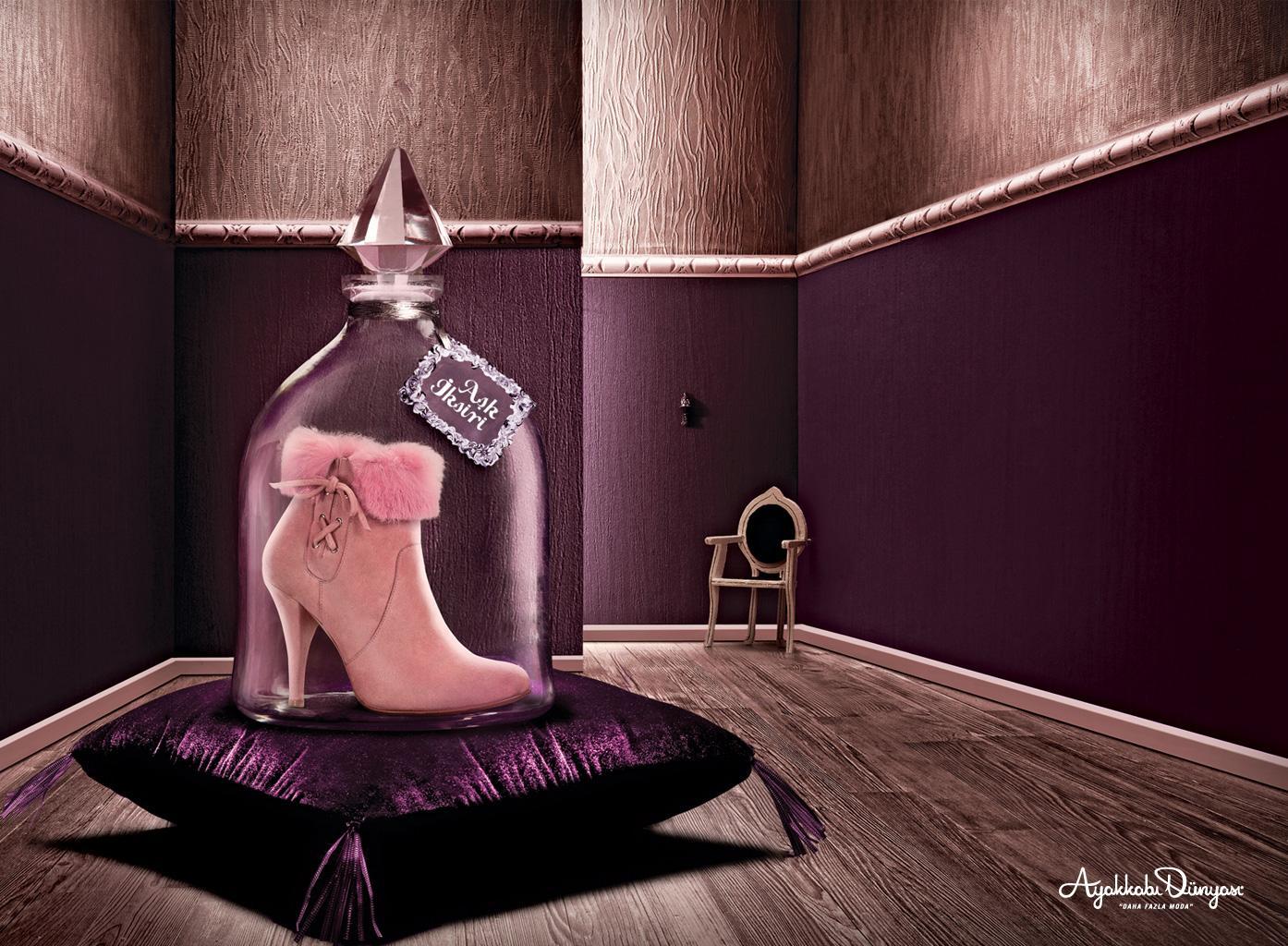 Ayakkabı Dünyası Print Ad -  Love Potion, 1