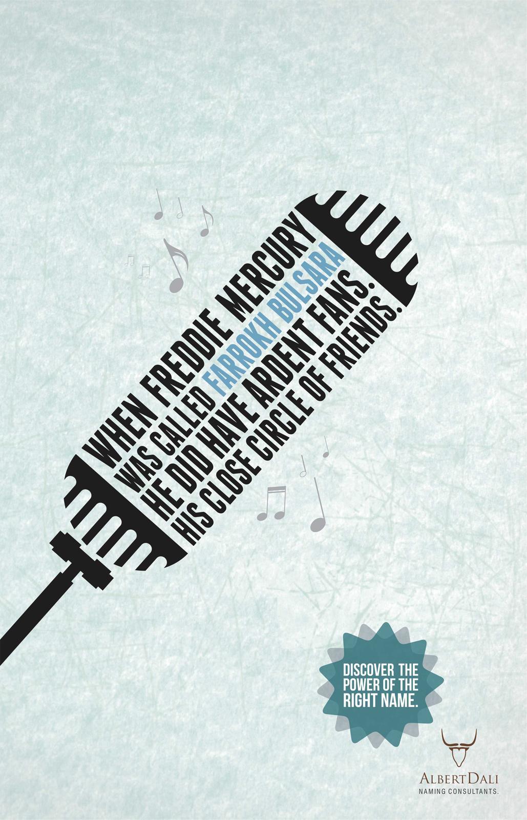 Albert Dali Print Ad -  Right Name, 1