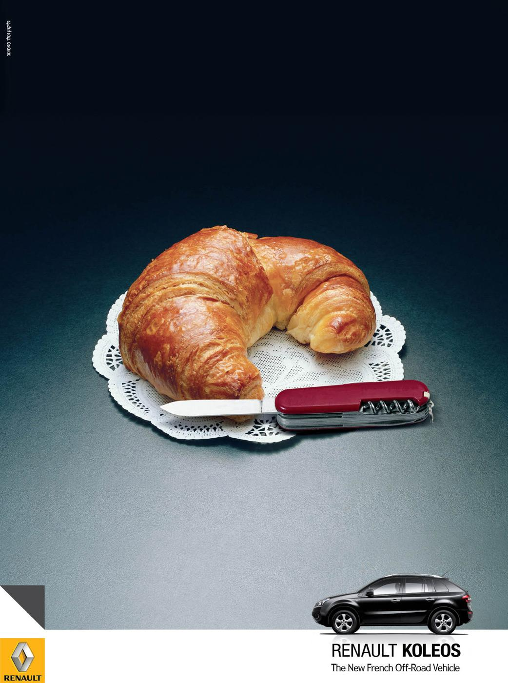 Renault Print Ad -  French Off-Road Vehicle