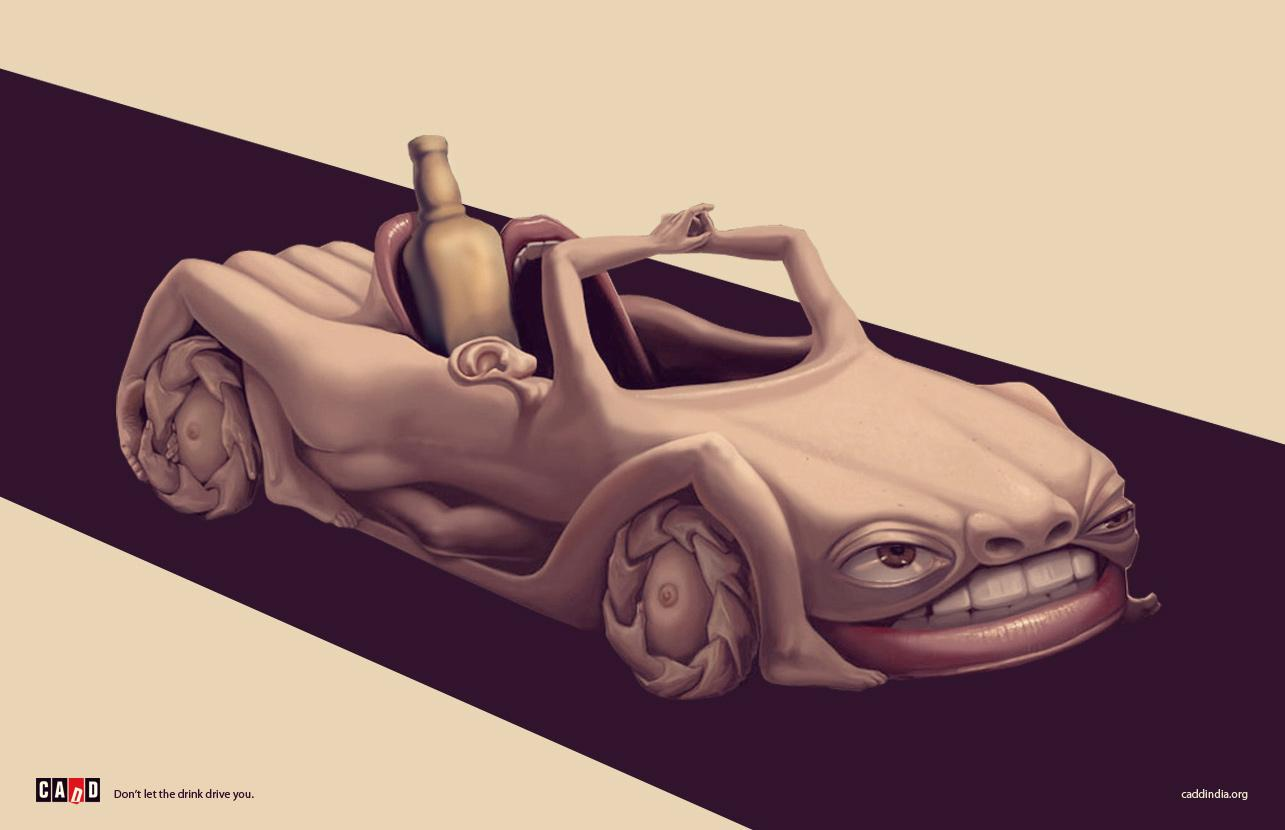 CADD Print Ad -  Car