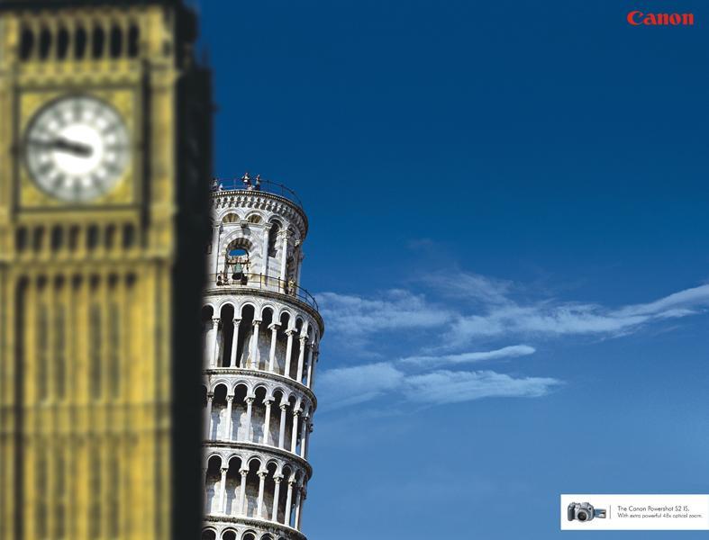 Big Ben vs Leaning Tower of Pisa