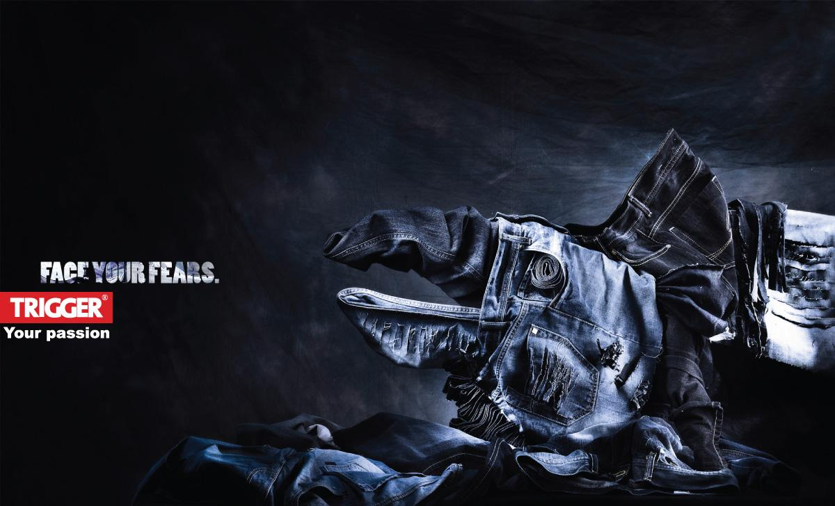 Trigger Jeans Print Ad -  Monster, 2