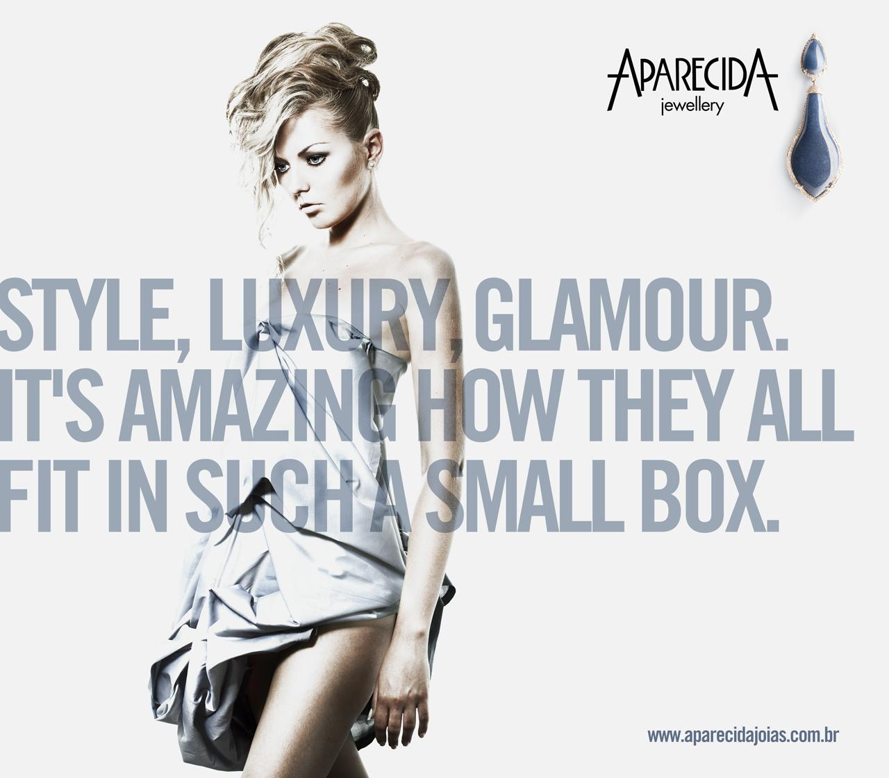 Aparecida Jewellery Print Ad -  Small box