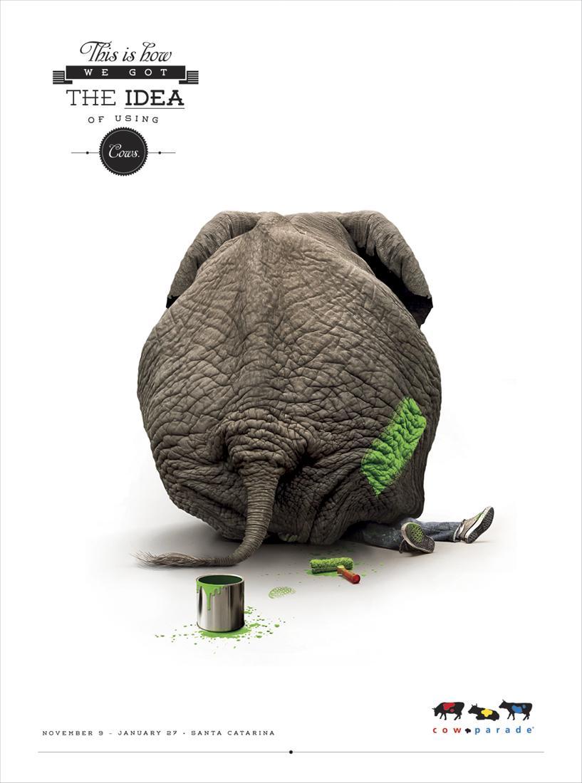 Propague Print Ad -  Elephant