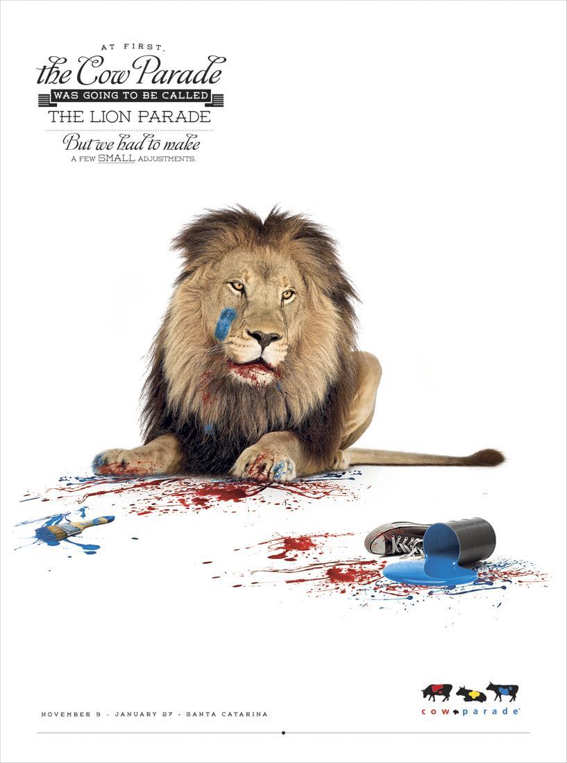 Propague Print Ad -  Lion