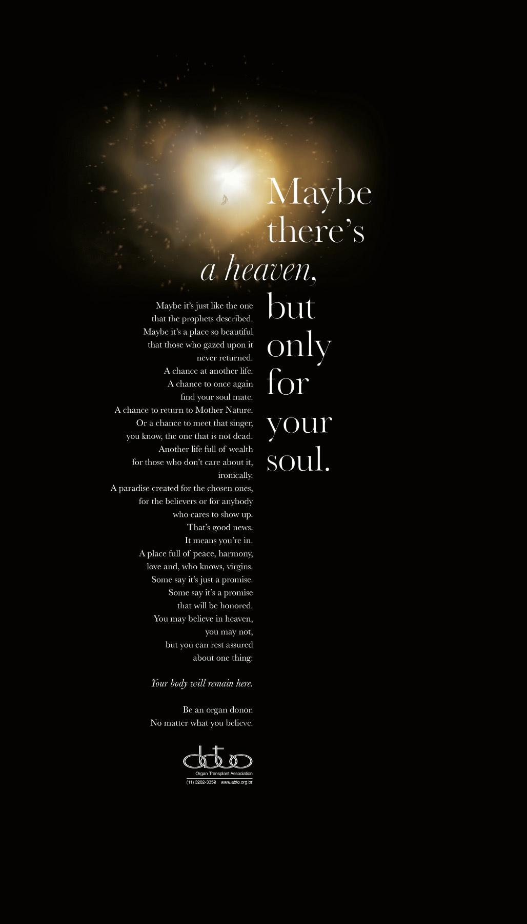 ABTO Print Ad -  Heaven