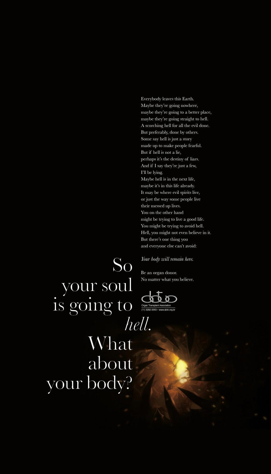 ABTO Print Ad -  Hell