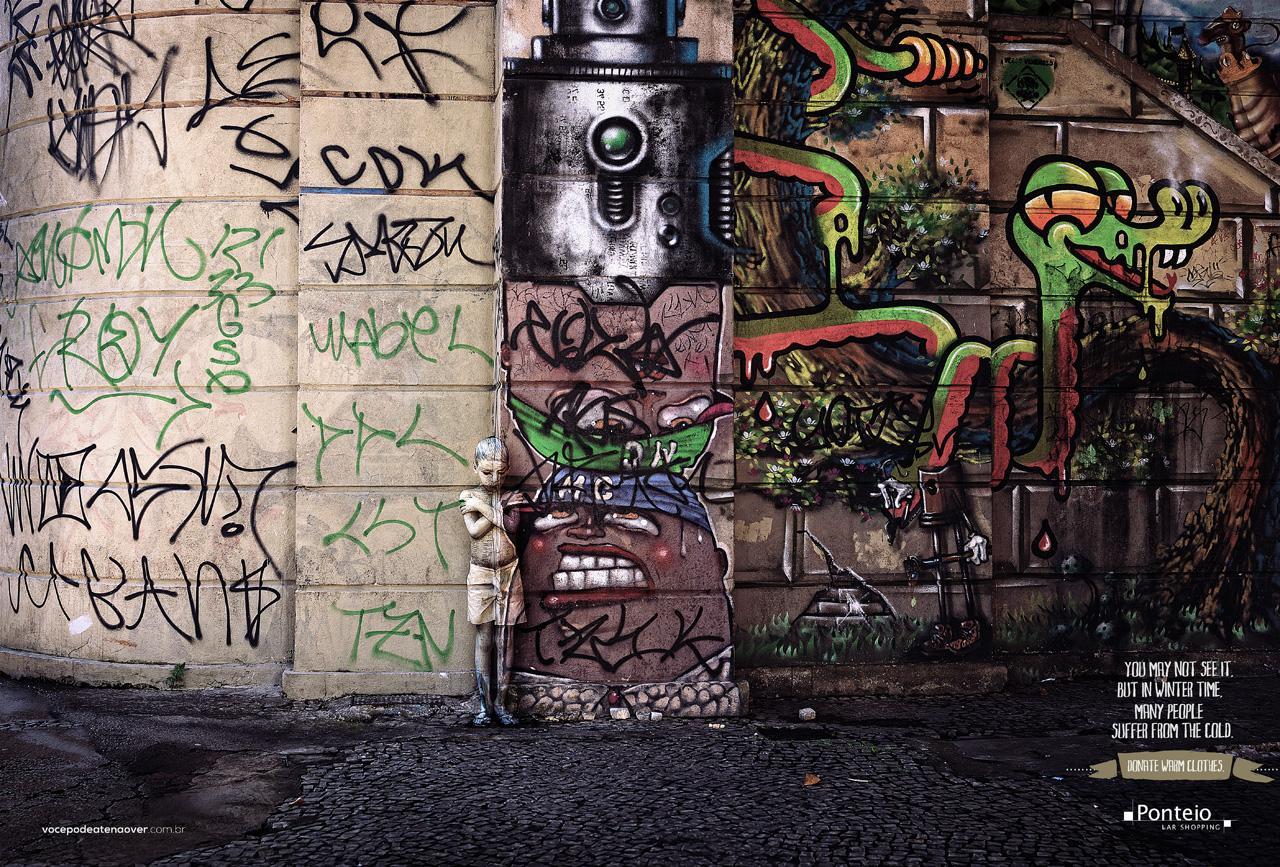 Ponteio Lar Print Ad -  Wall