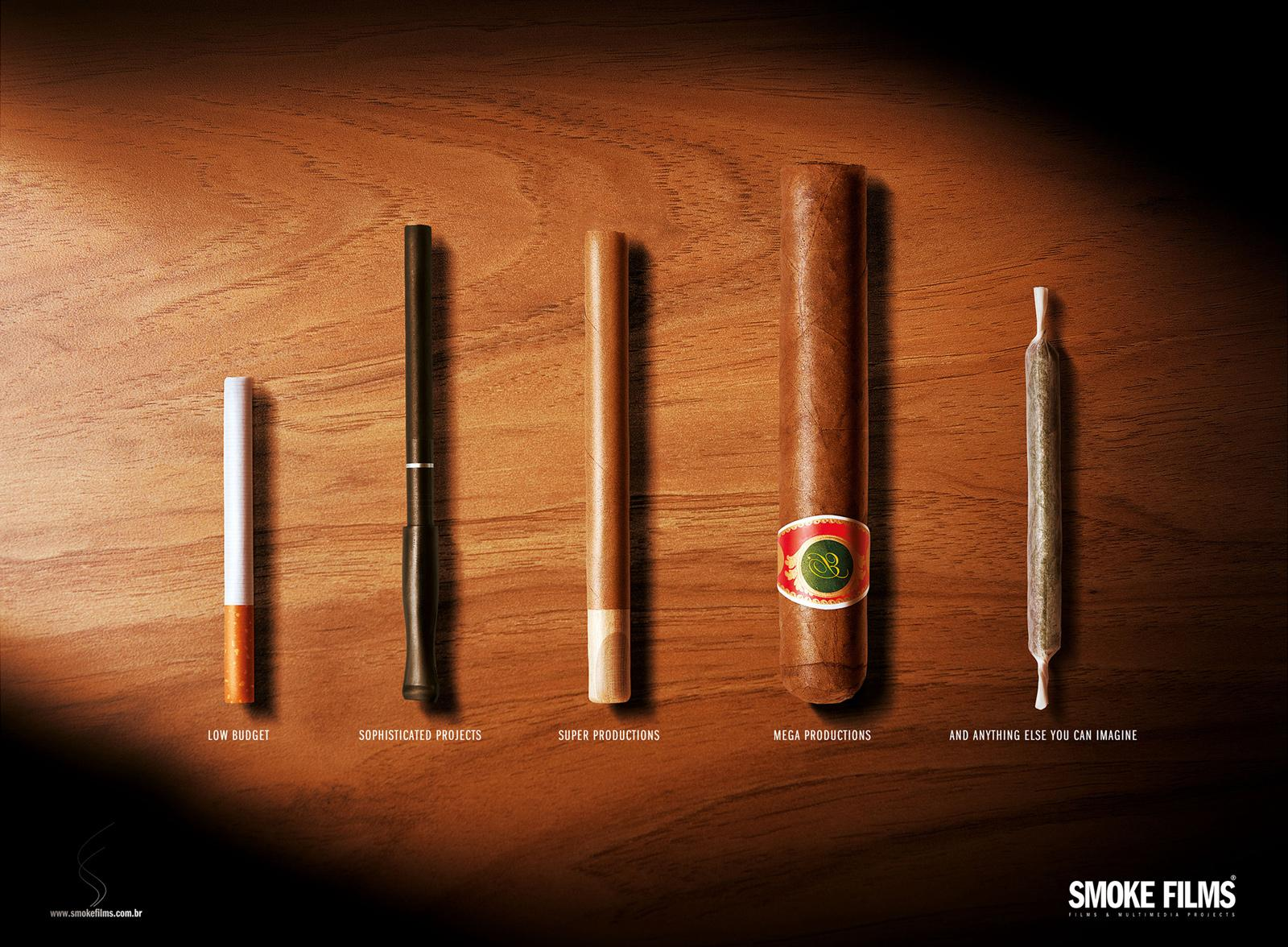 Smoke Films Print Ad -  Joint