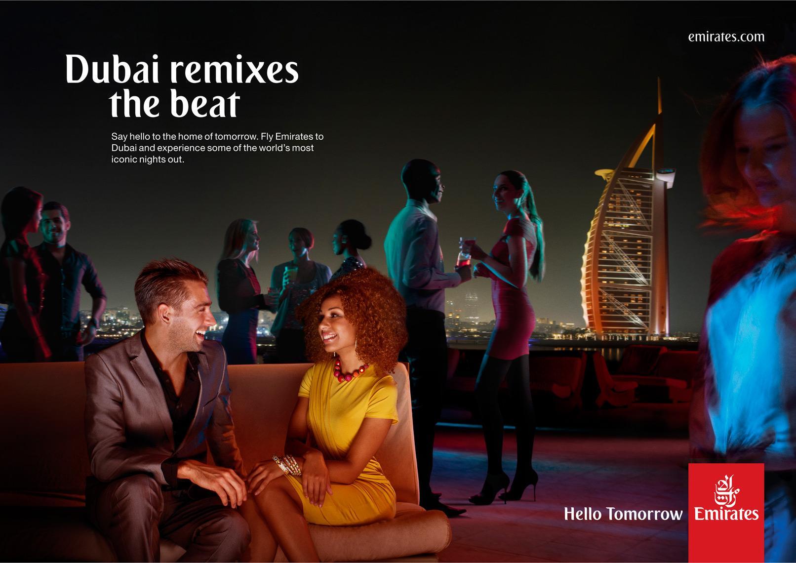 Emirates Print Ad -  Bar