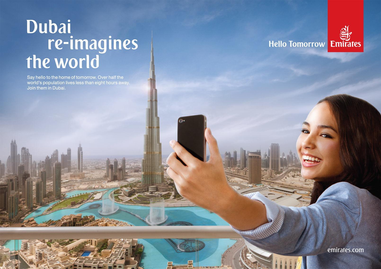 Emirates Print Ad -  Burj