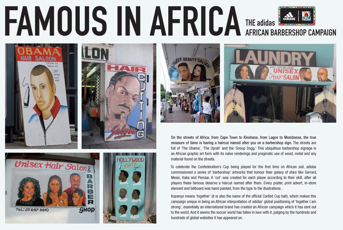 Adidas Ambient Ad -  Famous in Africa