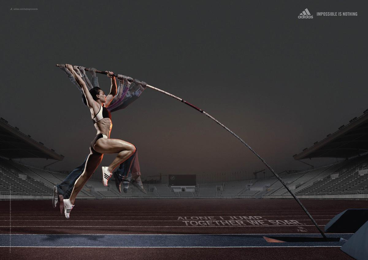 Adidas Print Ad -  Jelena