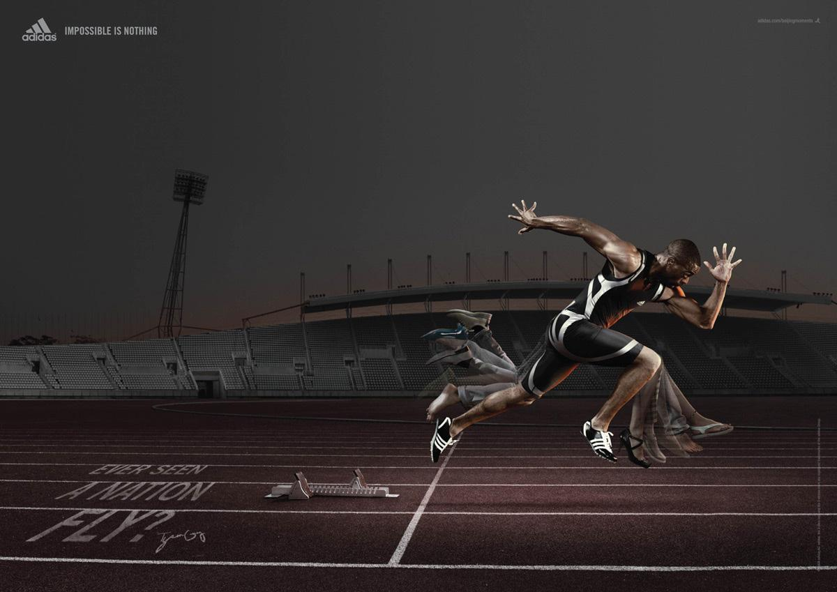 Adidas Print Ad -  Tyson