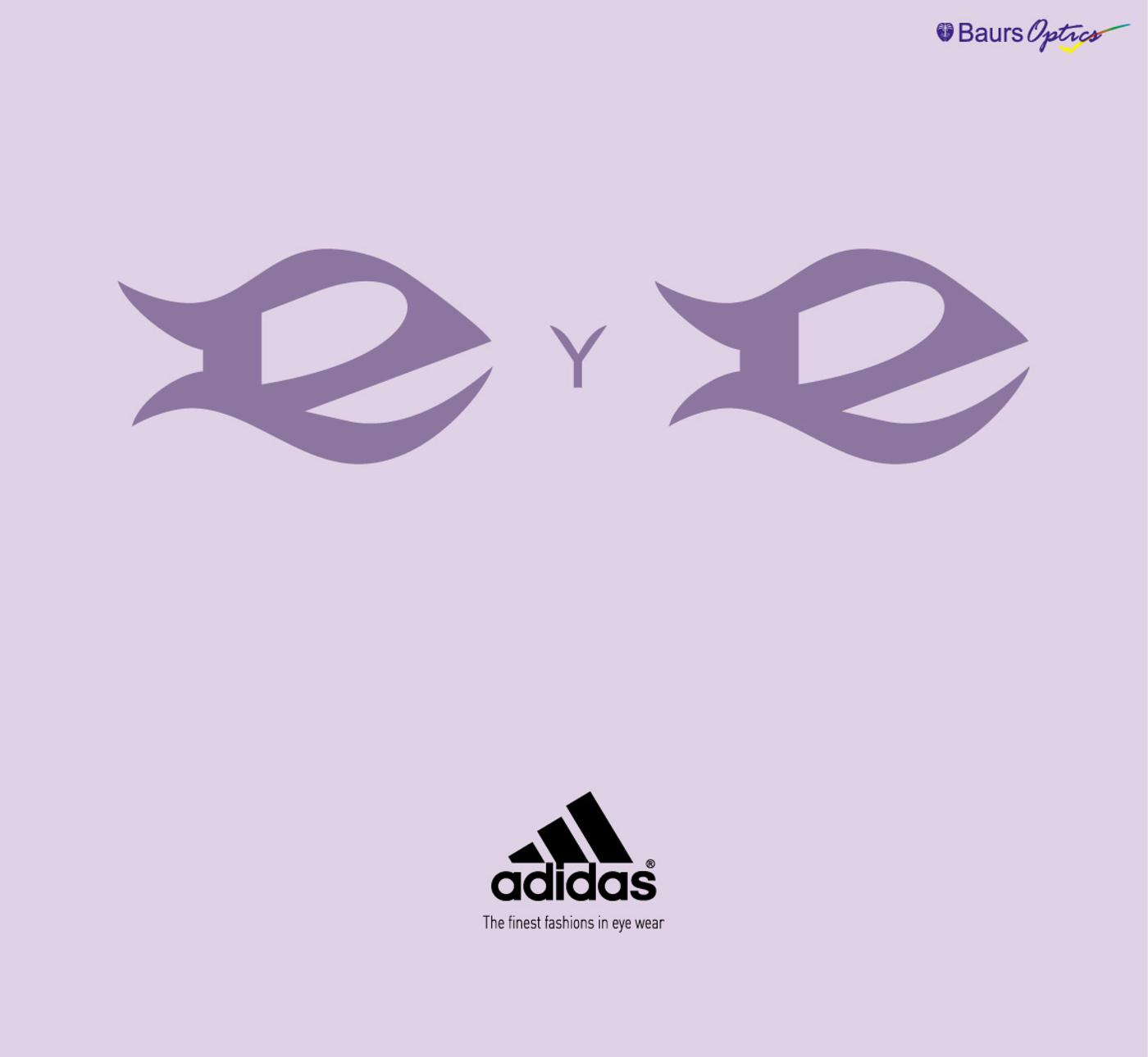 Adidas Print Ad -  The finest fashions in eye wear, 1