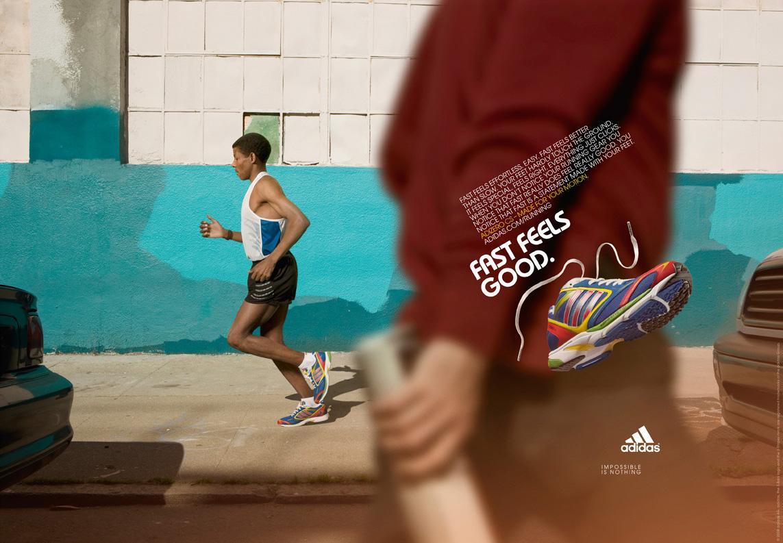 Adidas Print Ad -  Fast