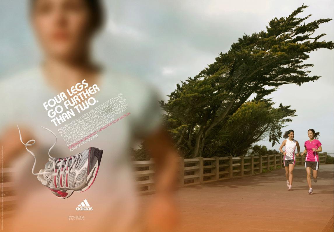 Adidas Print Ad -  Four