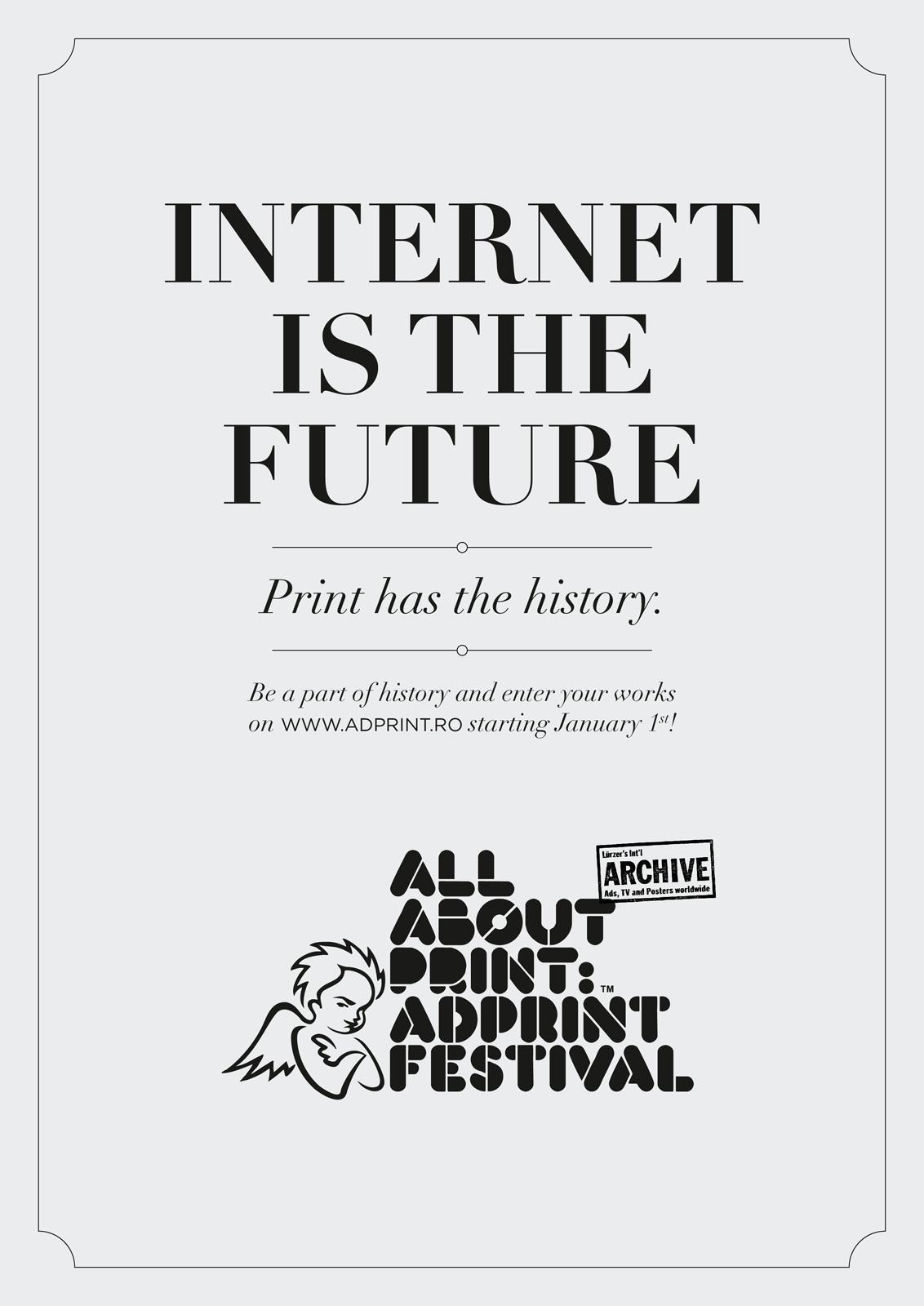 AdPrint Print Ad -  Internet